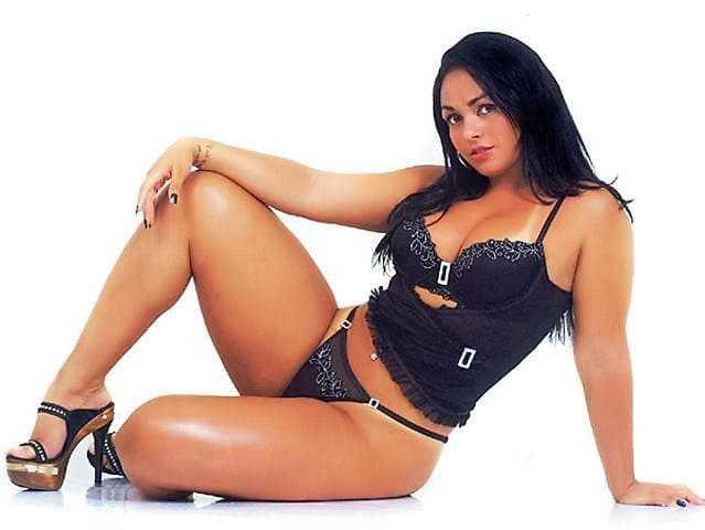 Beautiful girl with sexy legs photo