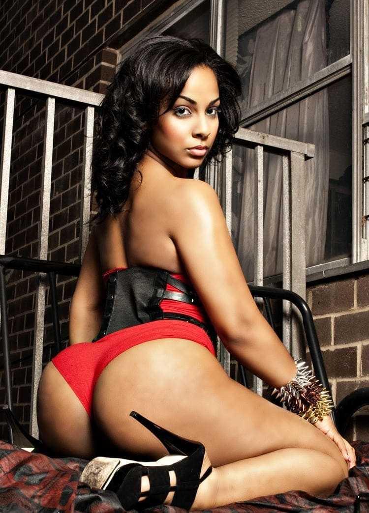 Hot & Beautiful Black girl. Big ass