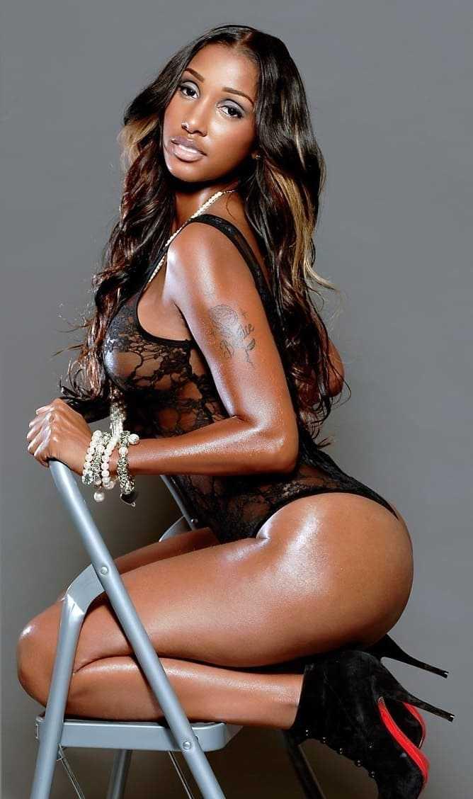 Sexy black girl photo