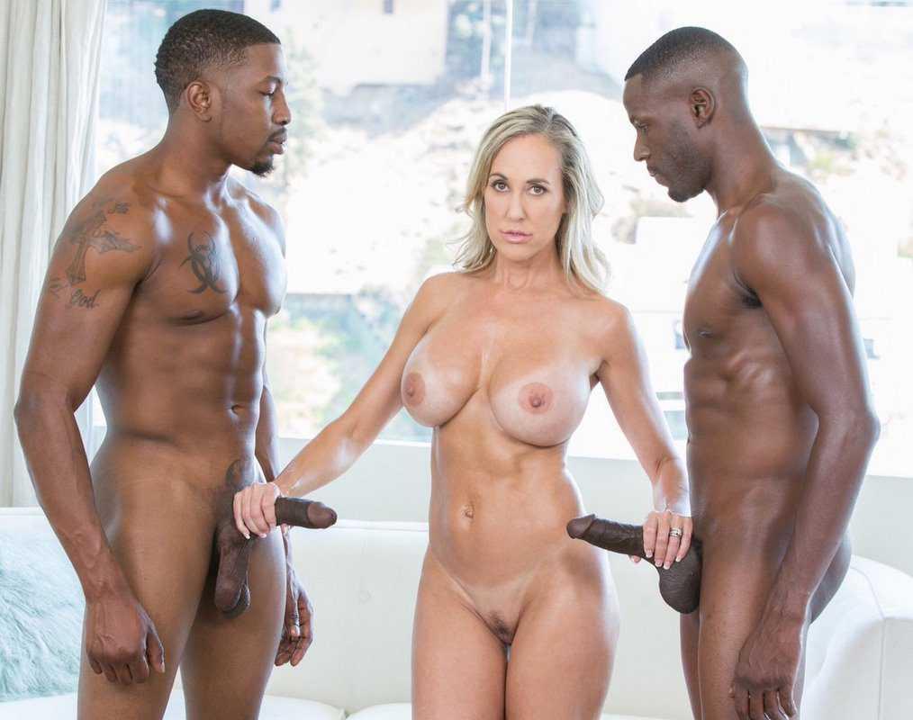 Brandi Love Big Tits MILF Big Black Dick Naked