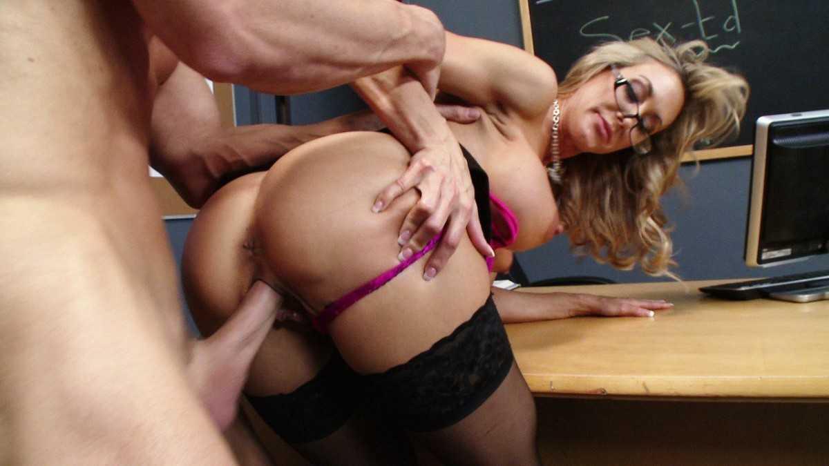 Brandi Love sex with teacher