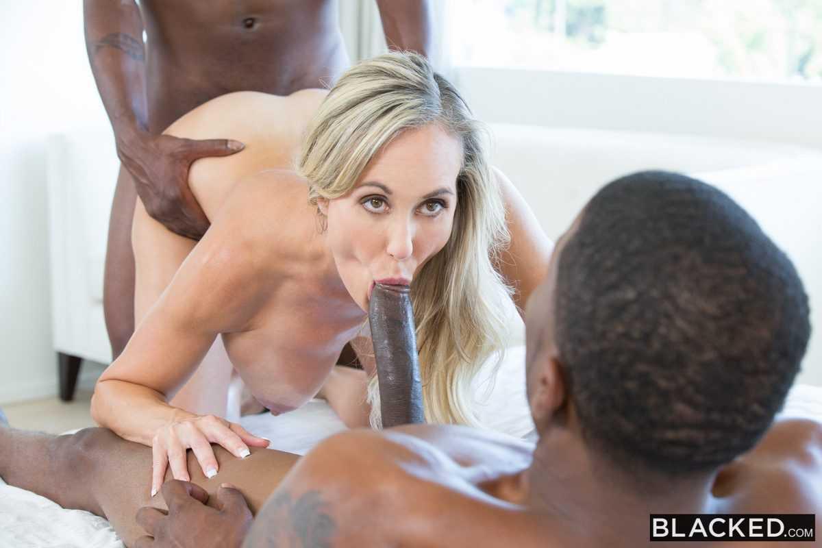 Brandi Love Double Penetration Big Black Dick