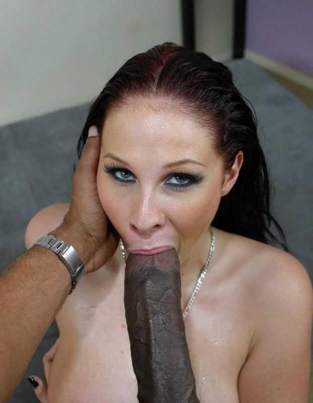 Gianna Michaels Blowjob Big Black Dick