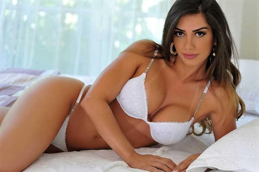 Hot Beautiful girl in a bikini photo