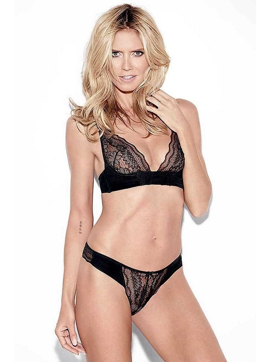 Sexy blonde girl in underwear