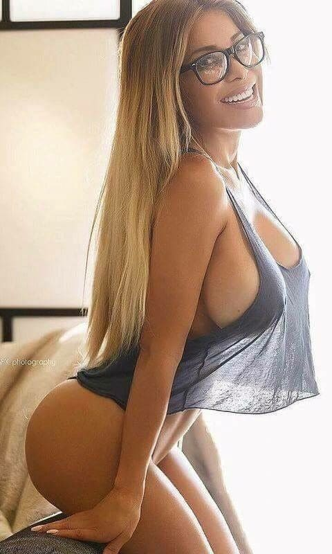 Sexy girl with big boobs.