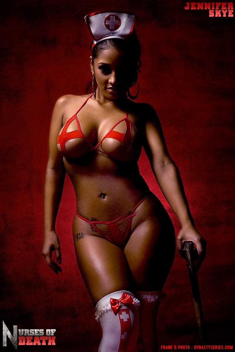 Sexy girl in a bikini with a hot body photo