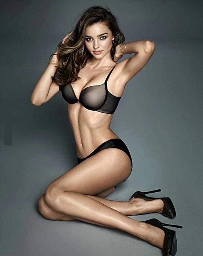 Beautiful girl with a slim figure photo