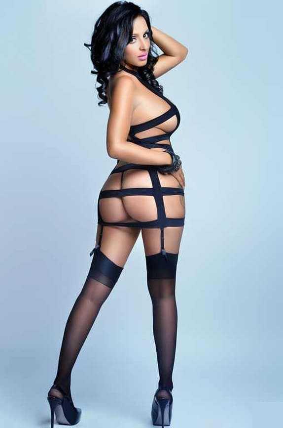 Hot girl with a sexy figure, big ass, big boobs