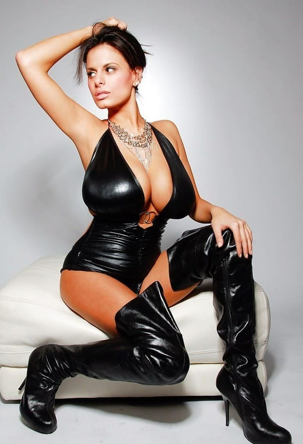 Beautiful woman with big boobs