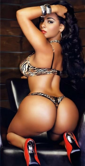 Sexy ass ebony women