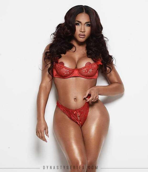 Beautiful woman with big tits