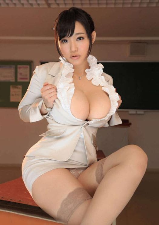 Sexy asian girl with big boobs
