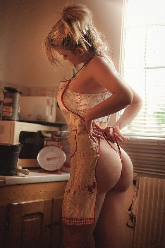 Hot housewife with a sexy ass